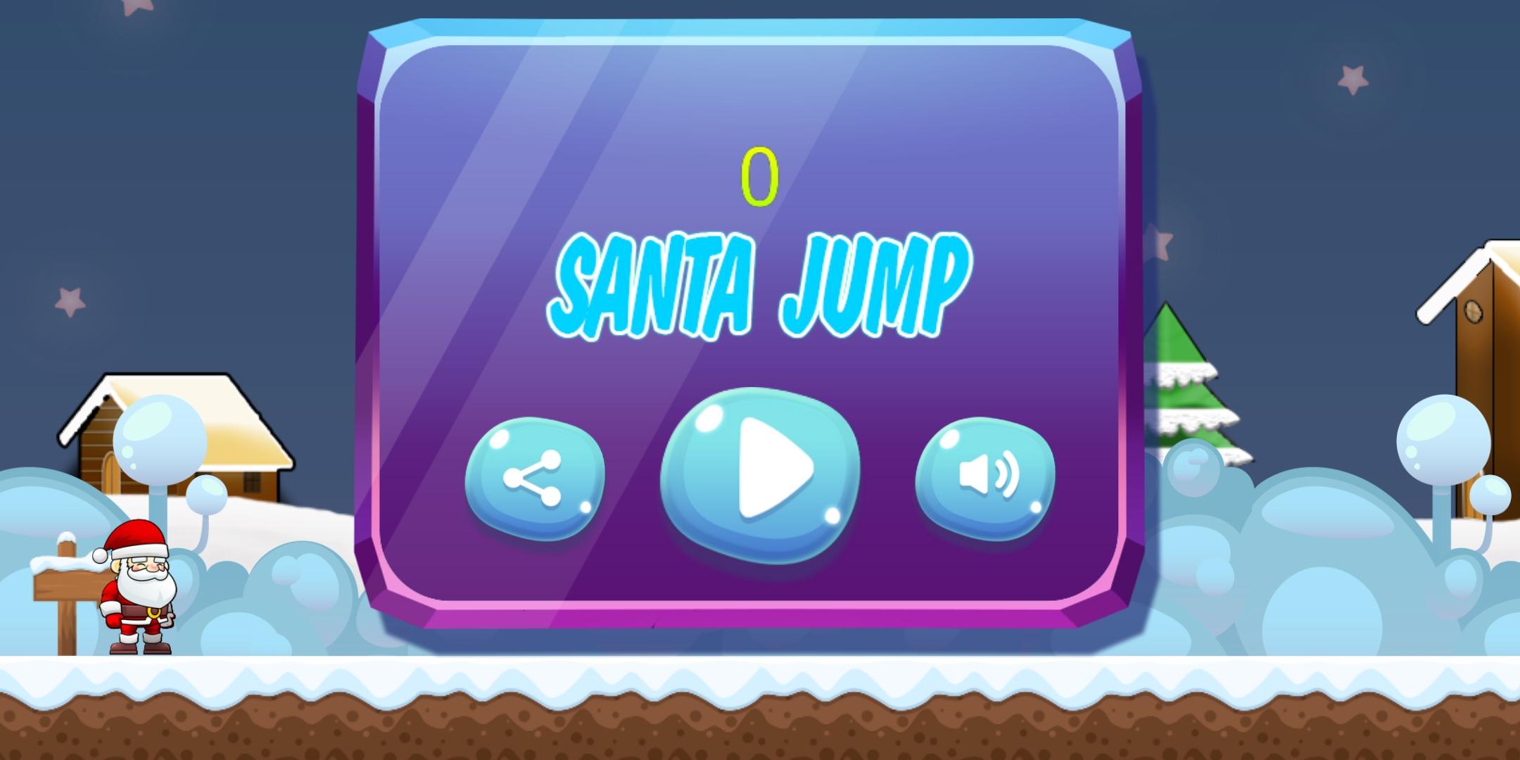 Santa Hero Run