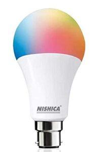 NISHICA B22 9-Watt Smart LED Bulb