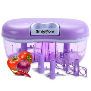 Smile Mom Twin Handy Vegetable Chopper 1500ml