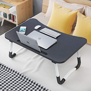 TARKAN Foldable Wooden Laptop Desk for Bed